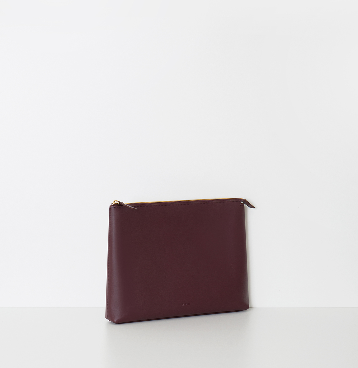 Aline Clutch Burgundy