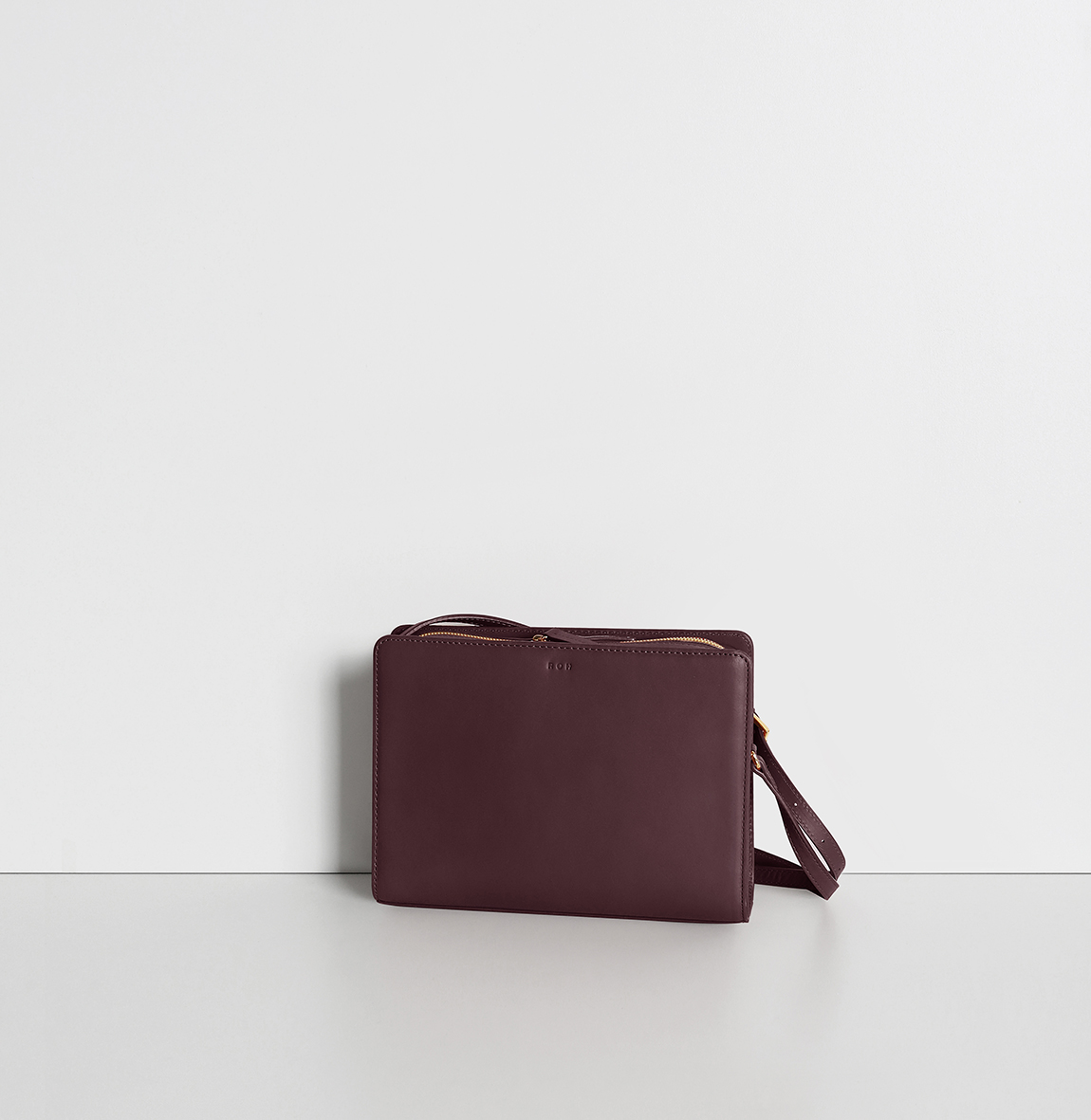 Mini Squarebag Burgundy