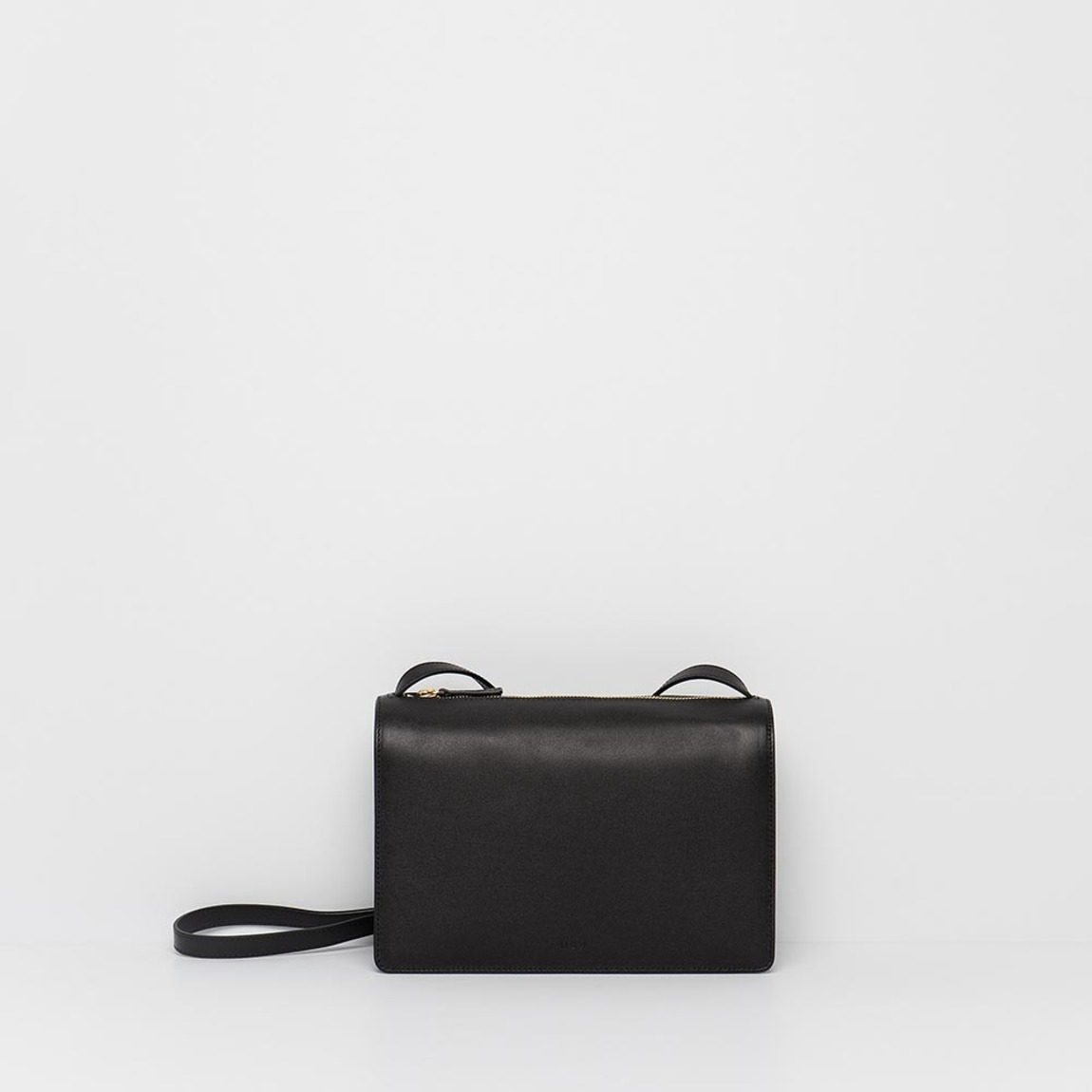 Round Square Bag Black