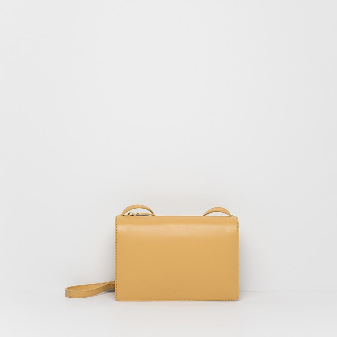 Round Square Bag Yellow