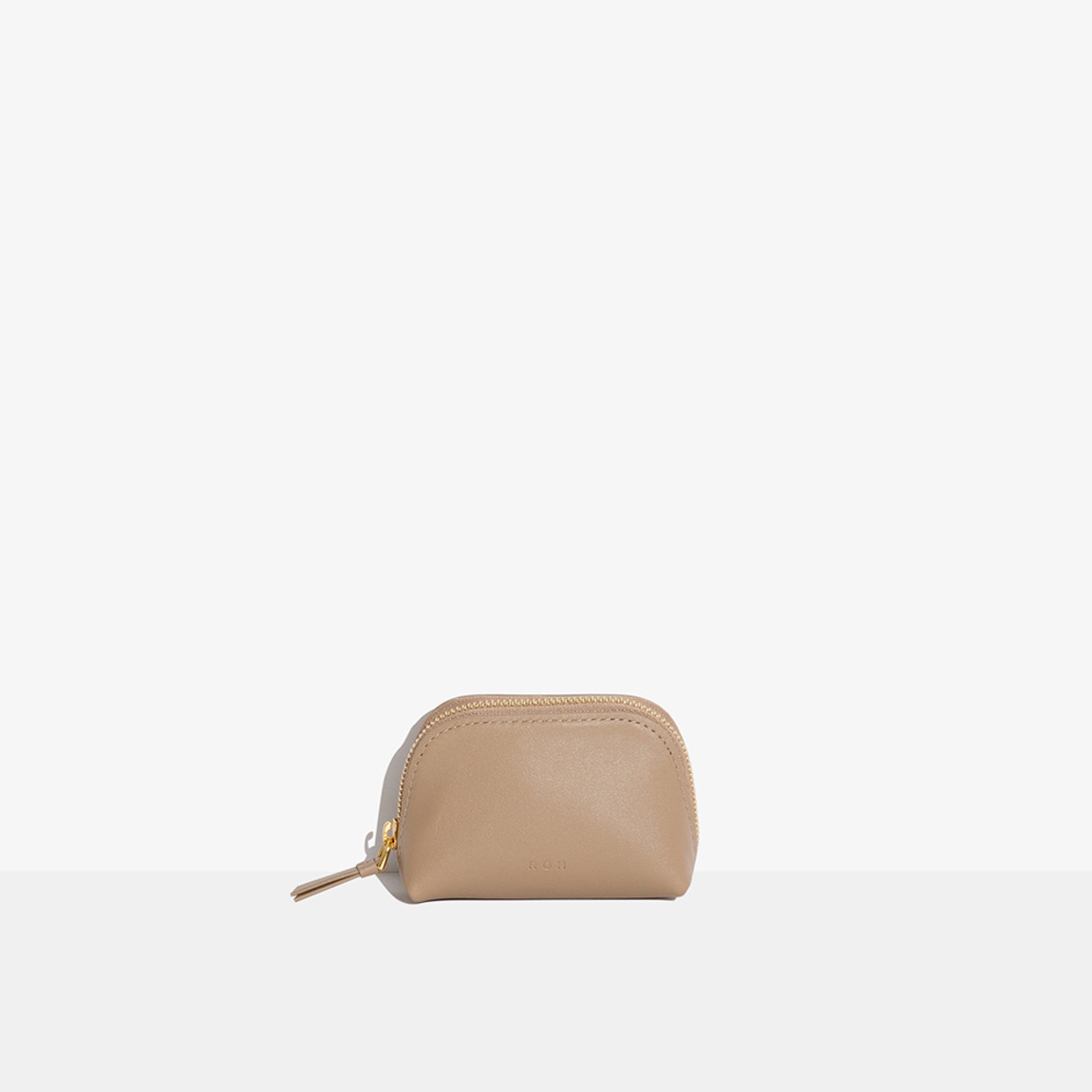 Mini Coin Wallet Beige