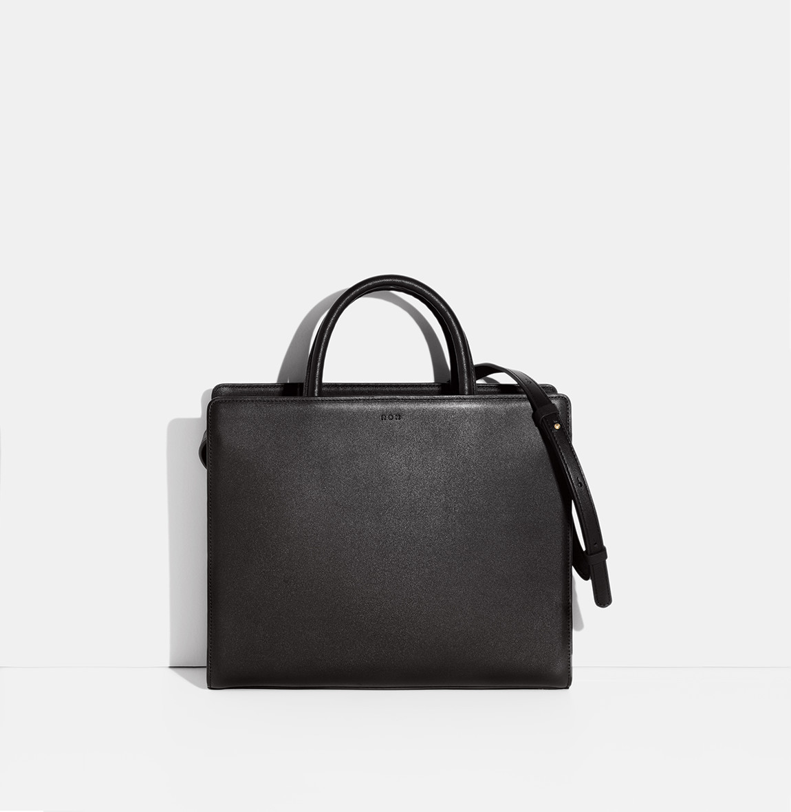 Square Tote Bag Black