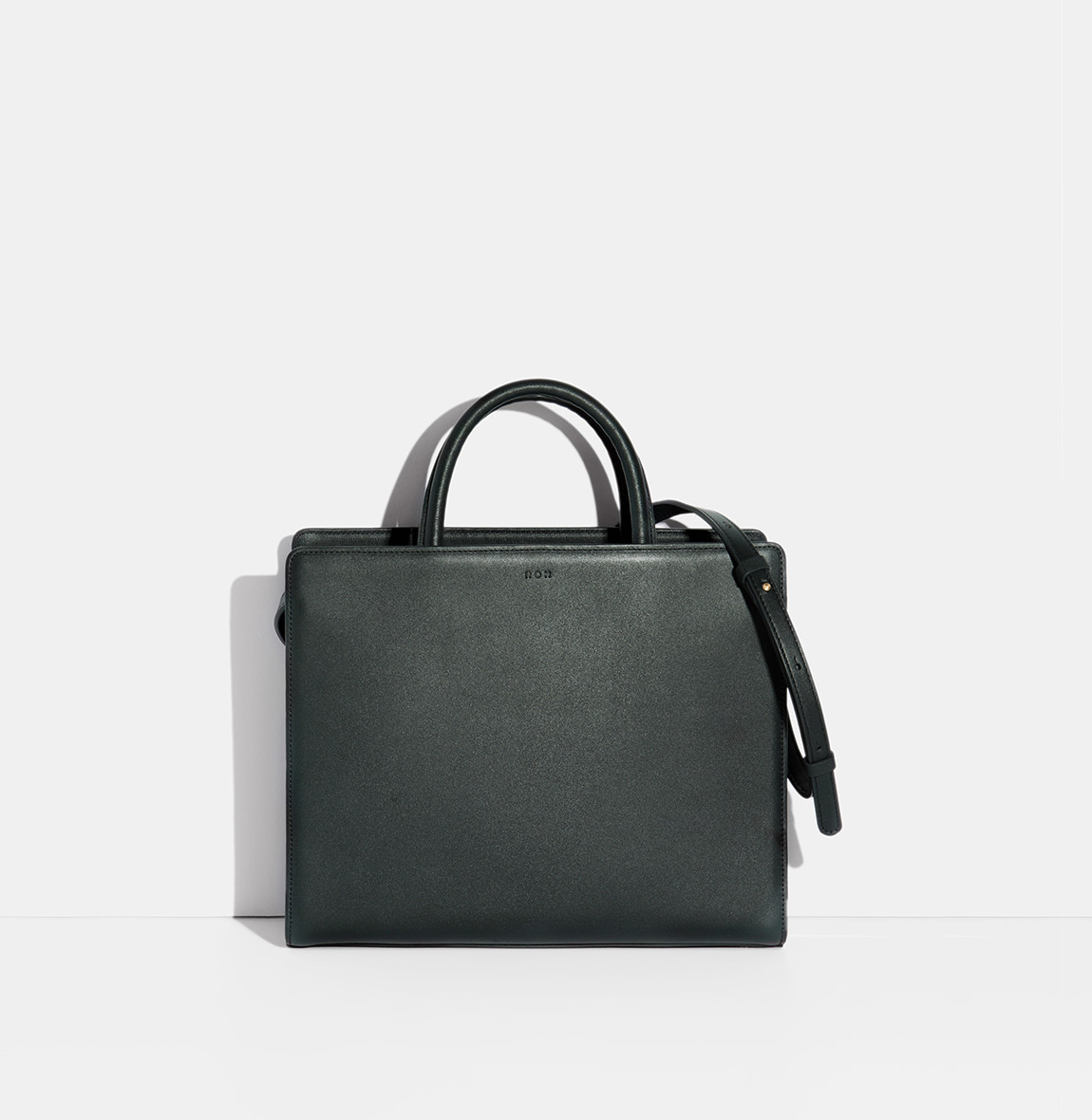 Square Tote Bag Viridian