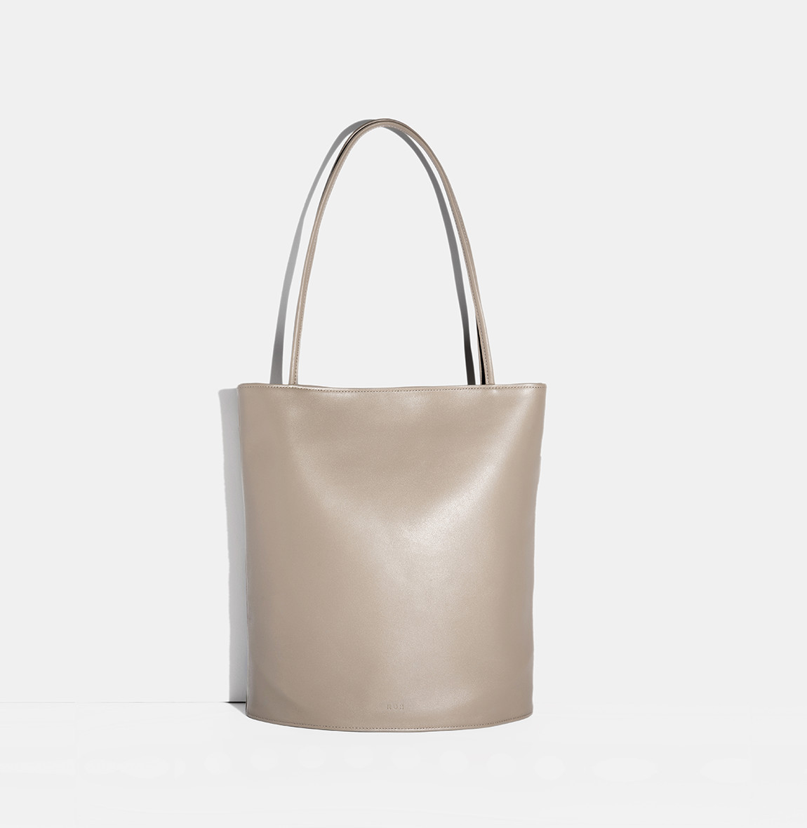 ROH Oval shoulder bag Beige