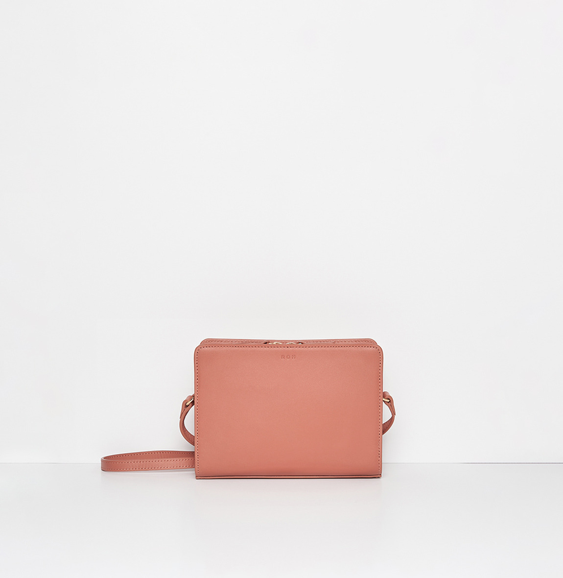 [한정기간10%할인] ROH Mini square bag Amber coral