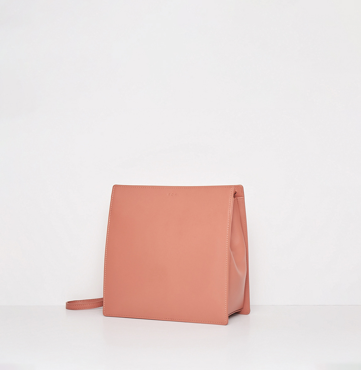 ROH Ladder crossbody bag Amber coral