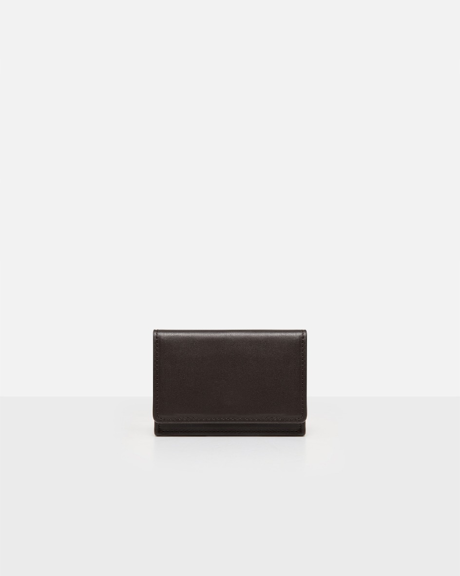 ROH Flap card wallet objet Umber