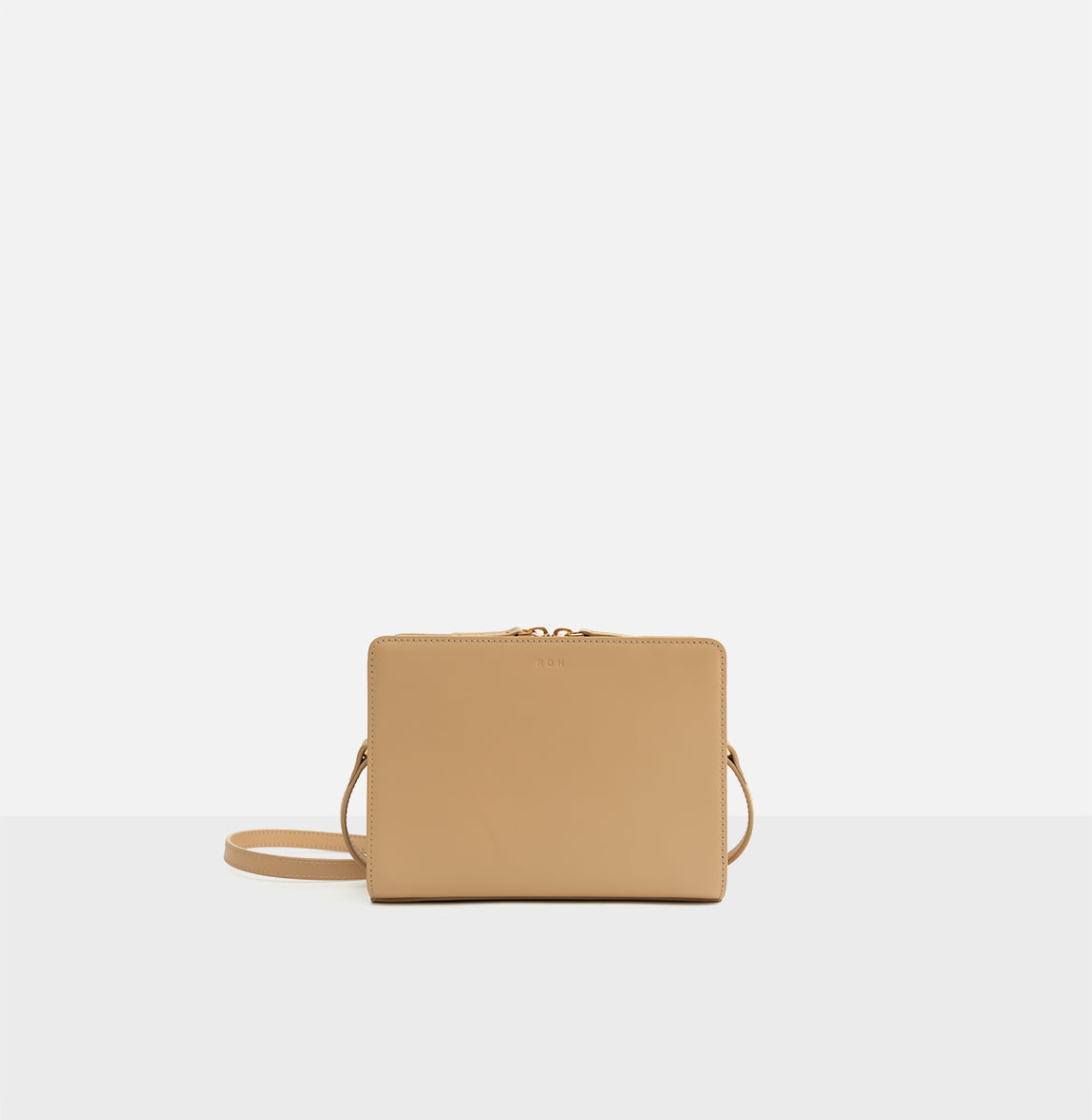 [한정기간10%할인] ROH Mini square bag Light ocher