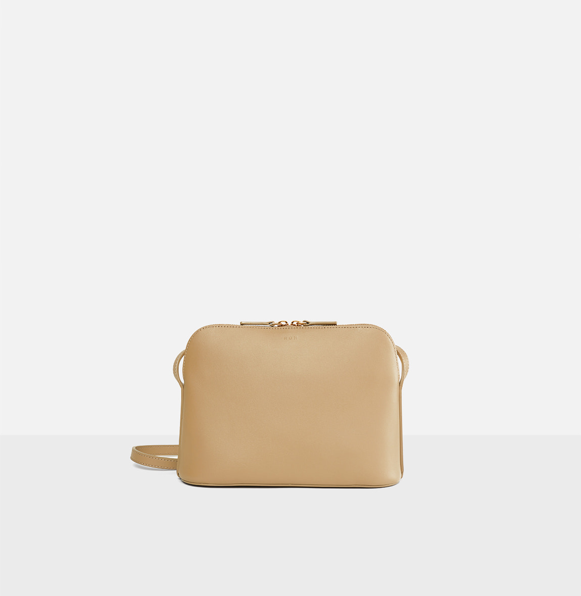 ROH Around-flat crossbody bag Light ocher
