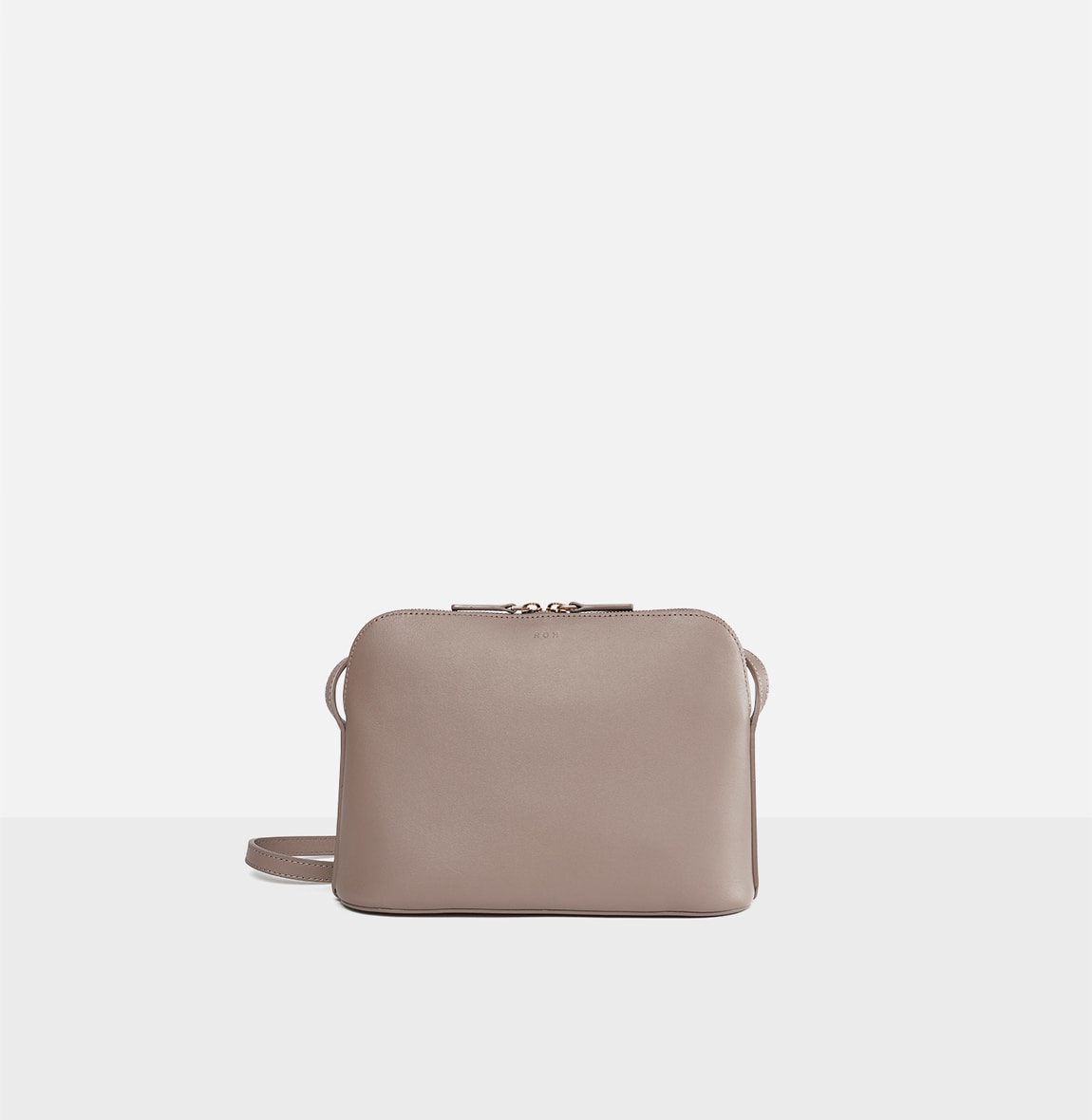 ROH Around-flat crossbody bag Beige