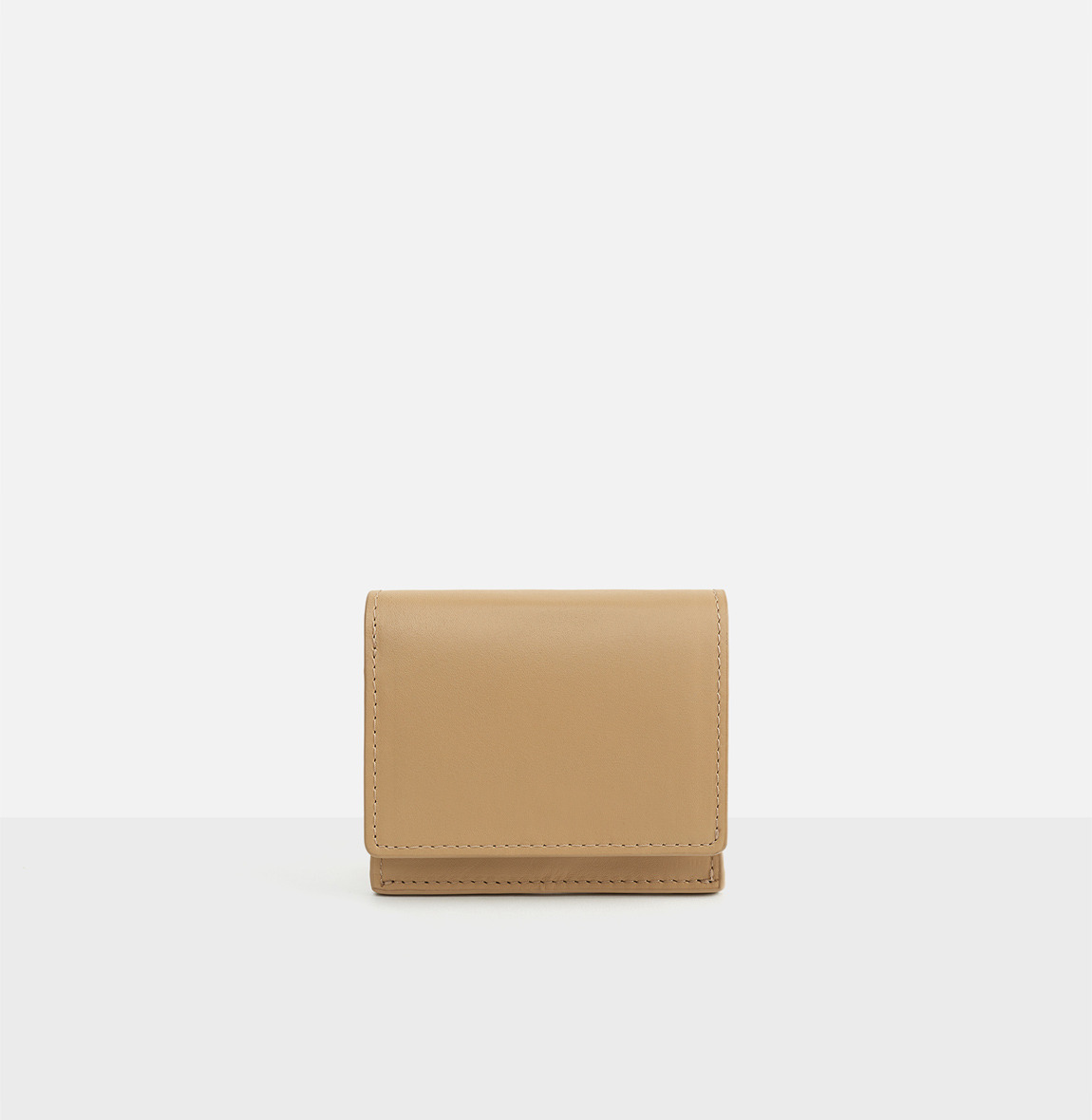 Pochette small wallet Light ocher
