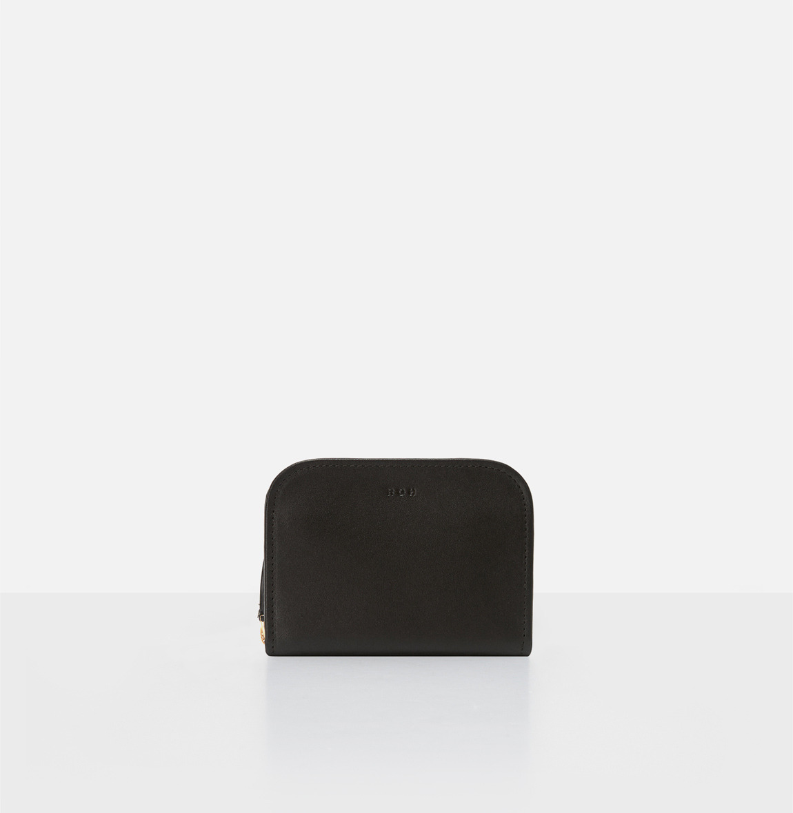 Around small zip wallet Black