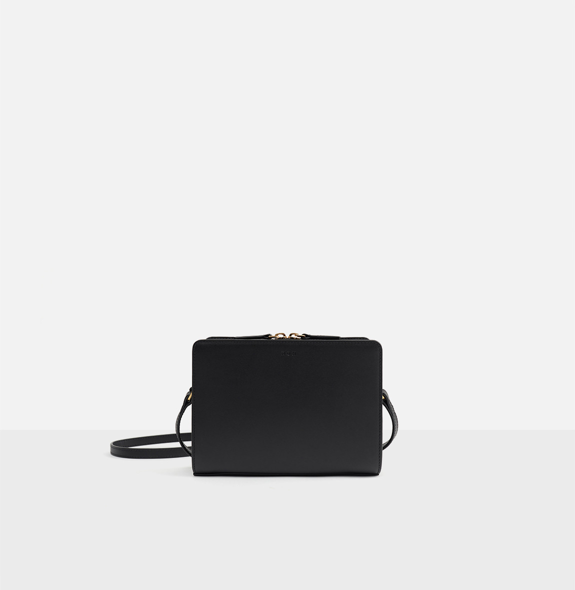 Square small shoulder bag Black