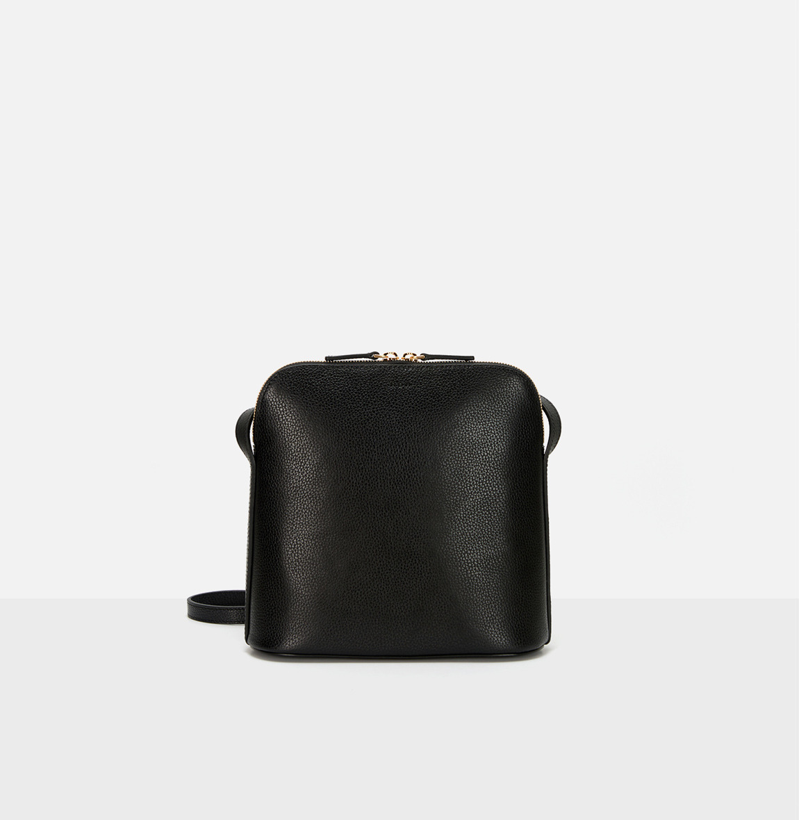 Around L medium shoulder bag Black Ople