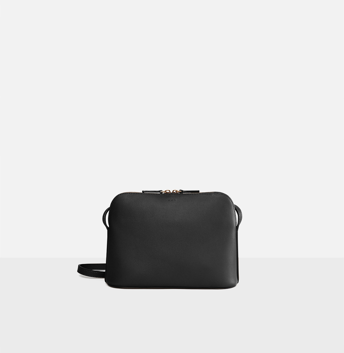 [20SS NEW]Around W medium shoulder bag Black